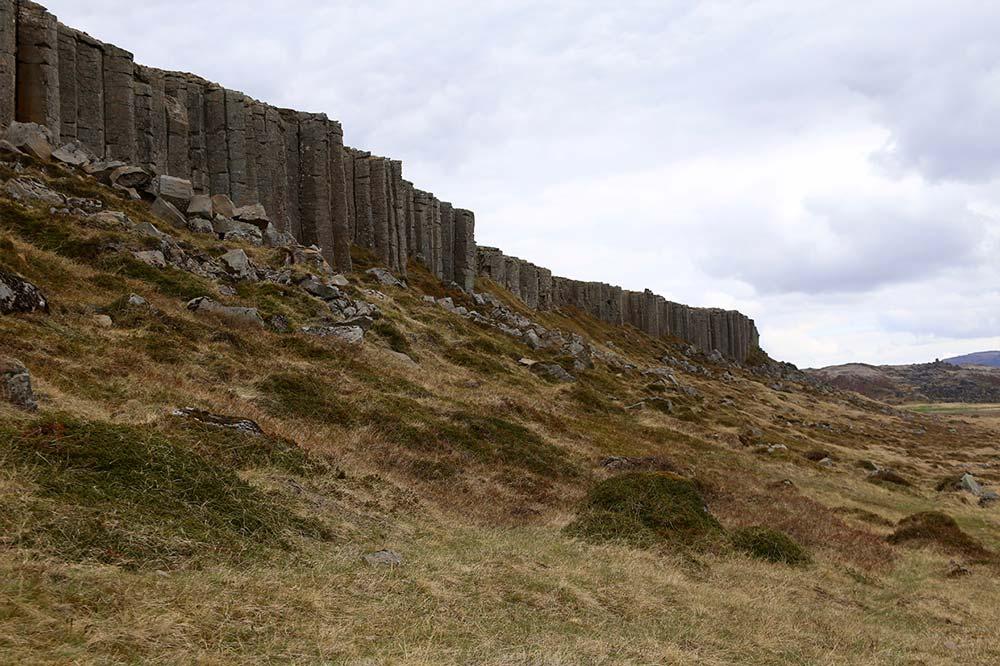 Basalt Cliffs Gerðuberg