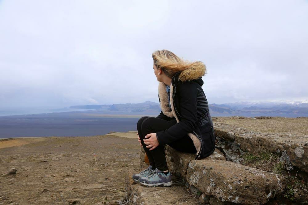 Top of Hjörleifshöfði