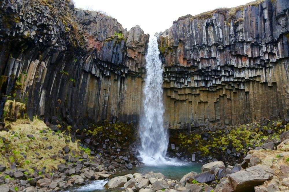 Skaftafell waterfall