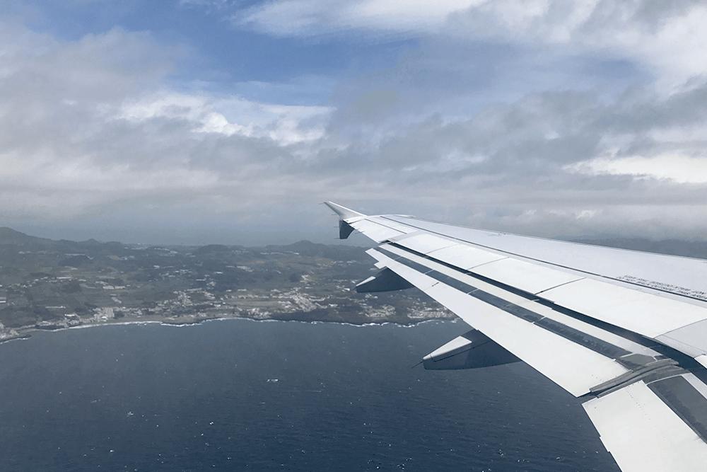 Sao Miguel vu du ciel
