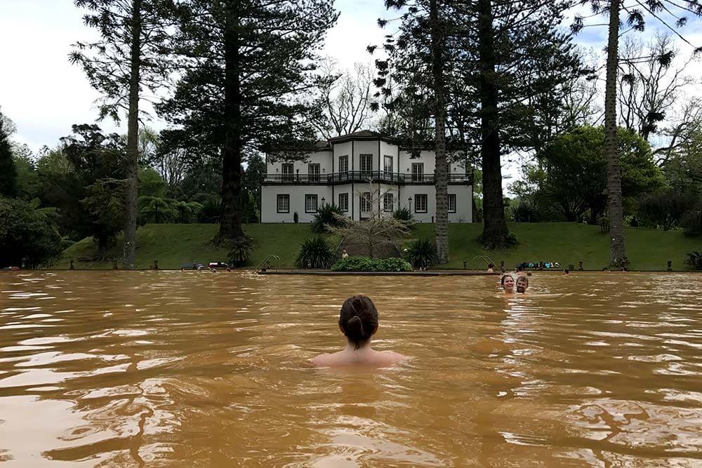 Terra Nostra - Piscine d'eau ferrugineuse - Sao Miguel