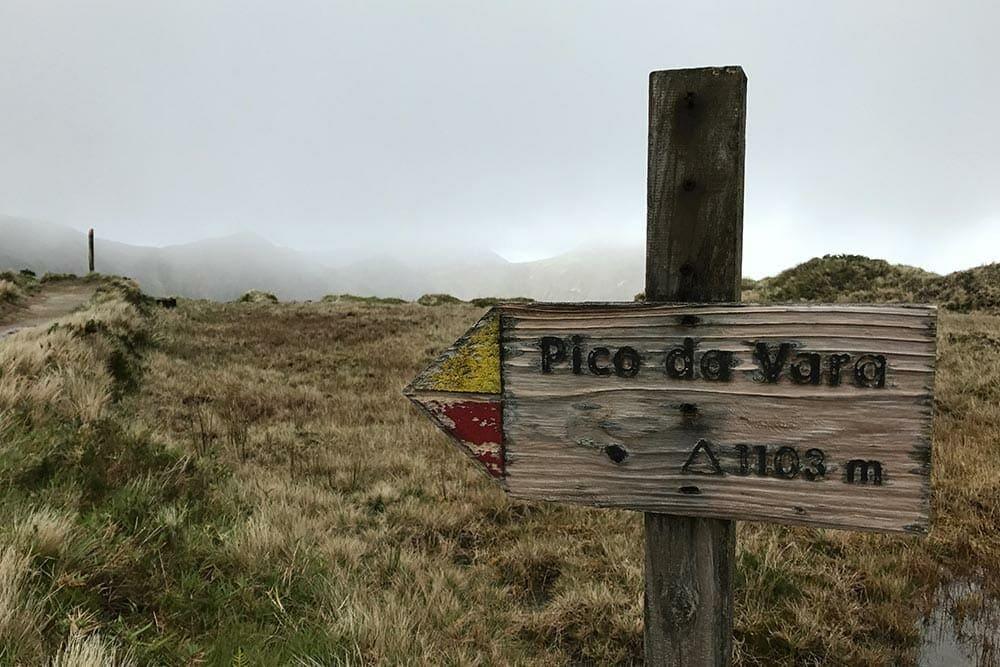 Pico da Vara's hike - São Miguel - Azores