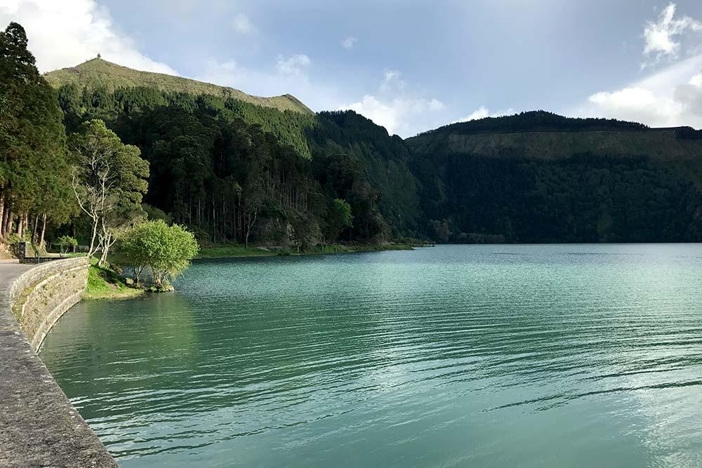 Sete Cidades - Lagoa verde - Sao Miguel