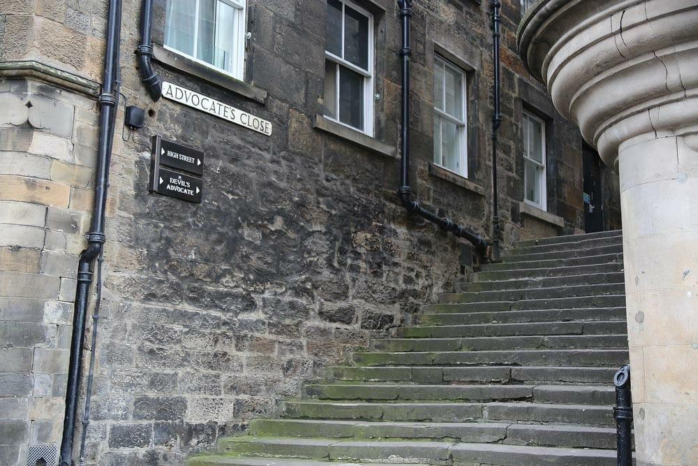 Advocates Close -Edinburgh