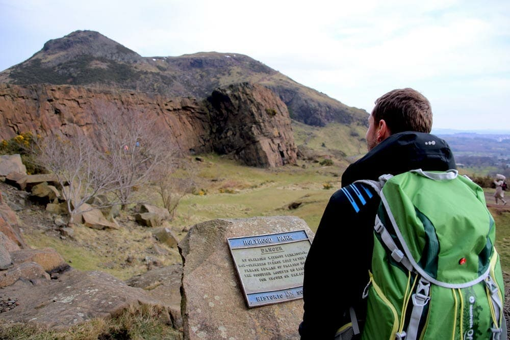 Arthur's seat hike