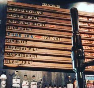 Brewdog bar ©andfranz/instagram - Edinburgh