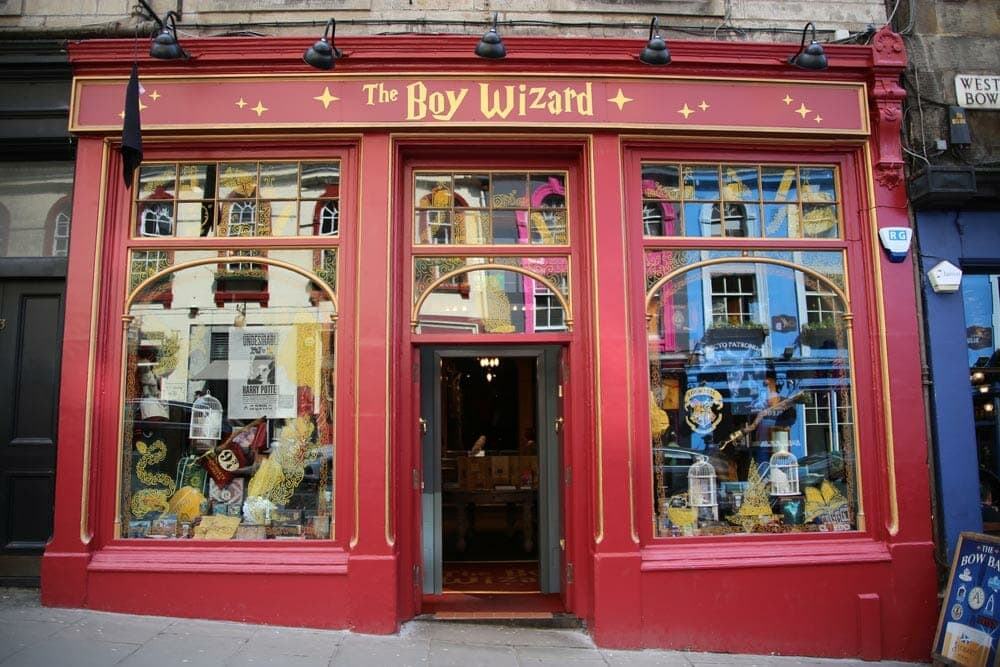 The Boy Wizard - Edinburgh