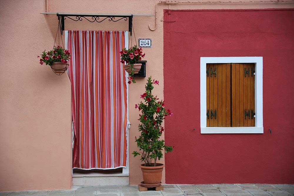 Small houses in Burano