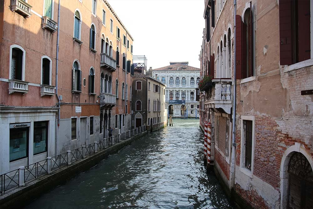 Walking around Venice streets