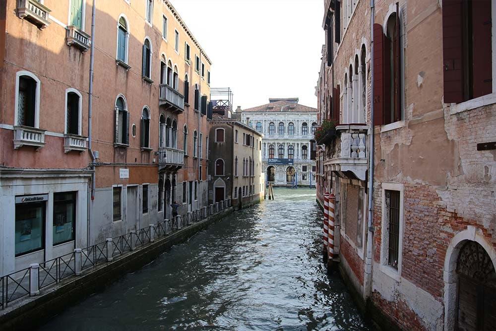 Walking around Venice streets