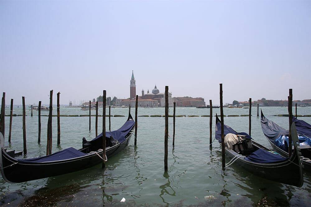 Venice - View from San Marco place