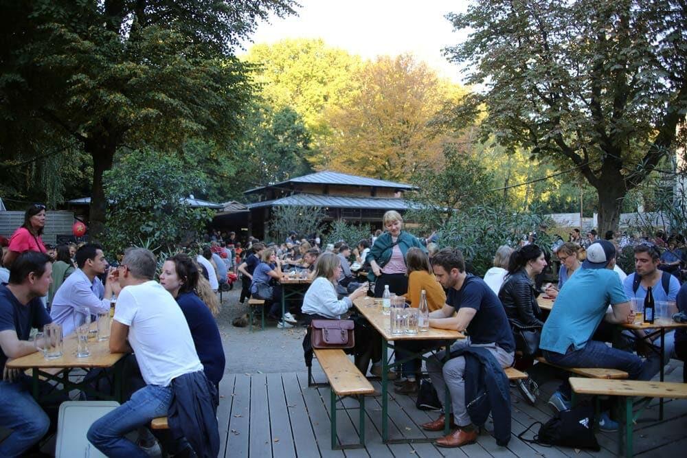 Biergarten: Café am Neuen See