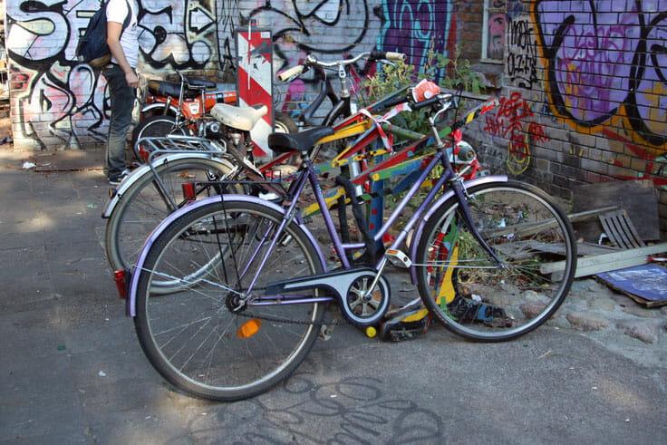 Faire du vélo à Berlin