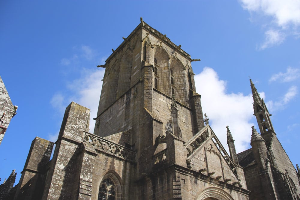 Locronan's church