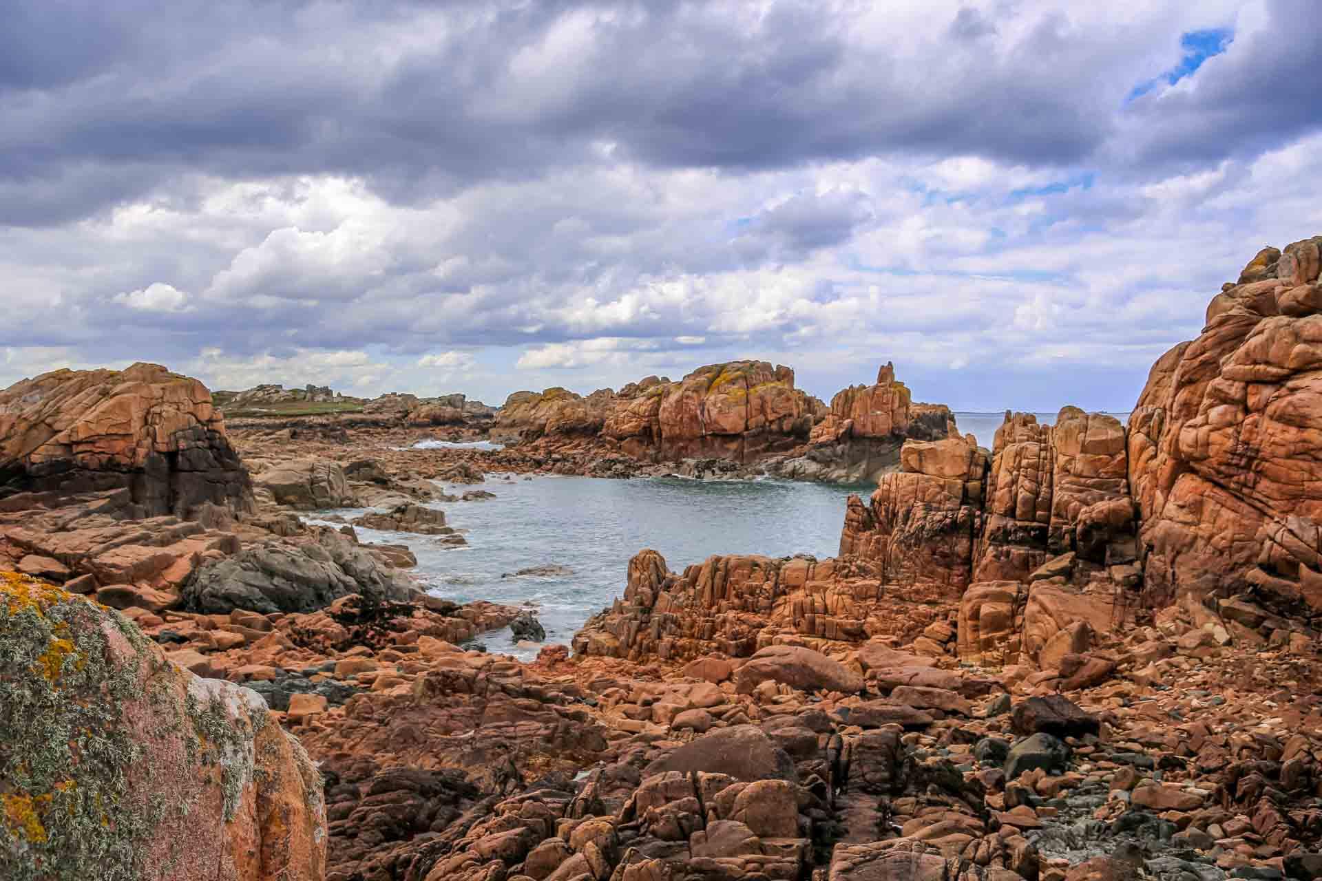 Côte de granit rose - Île de Bréhat