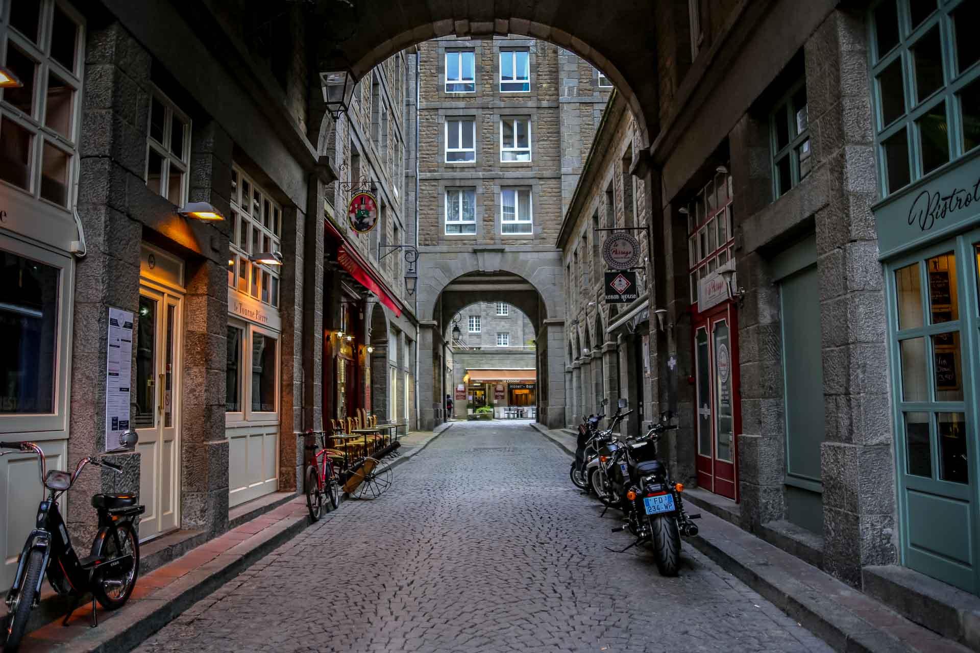 Centre ville de Saint-Malo Intramuros