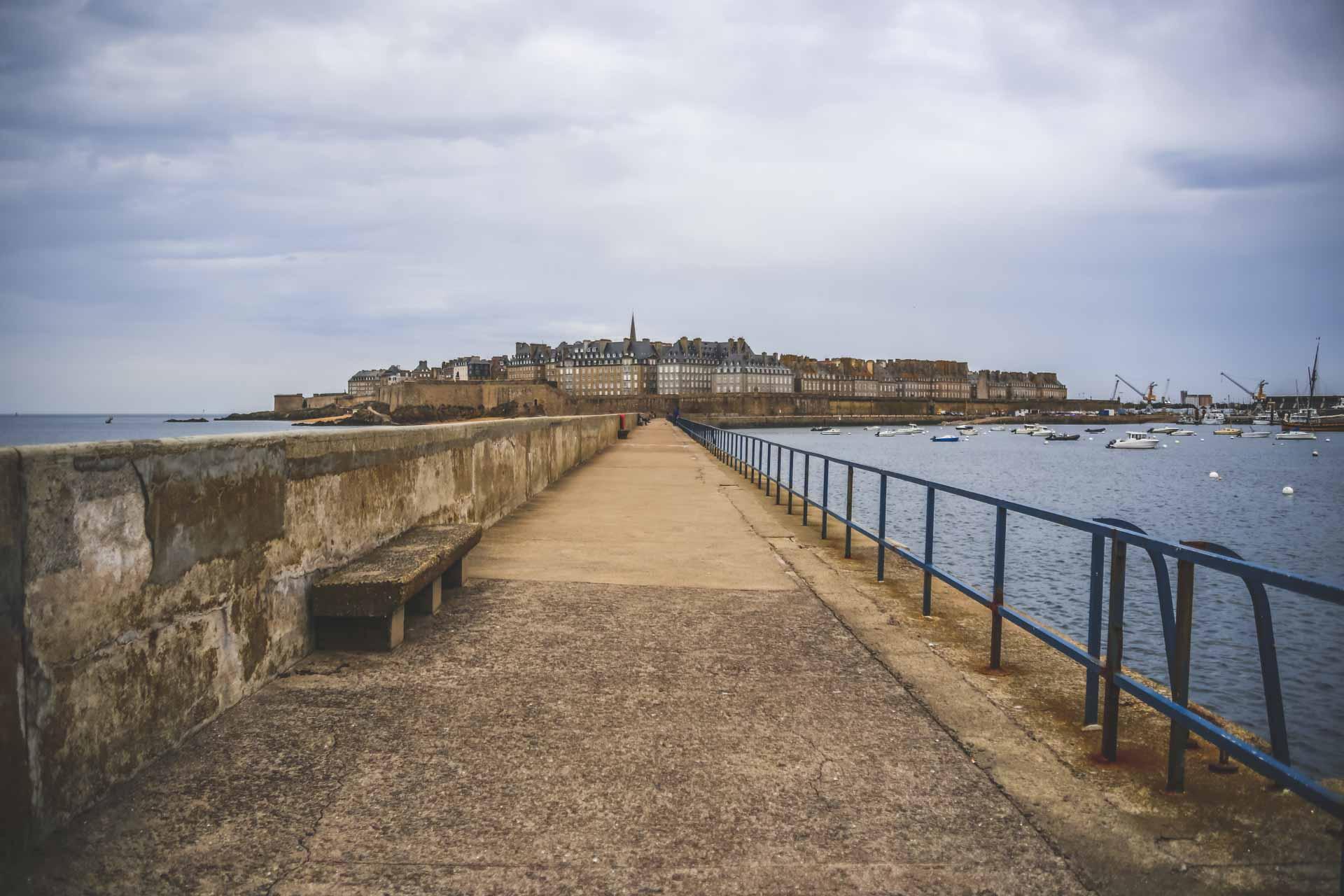 Saint-Malo - Jetée môle des noires