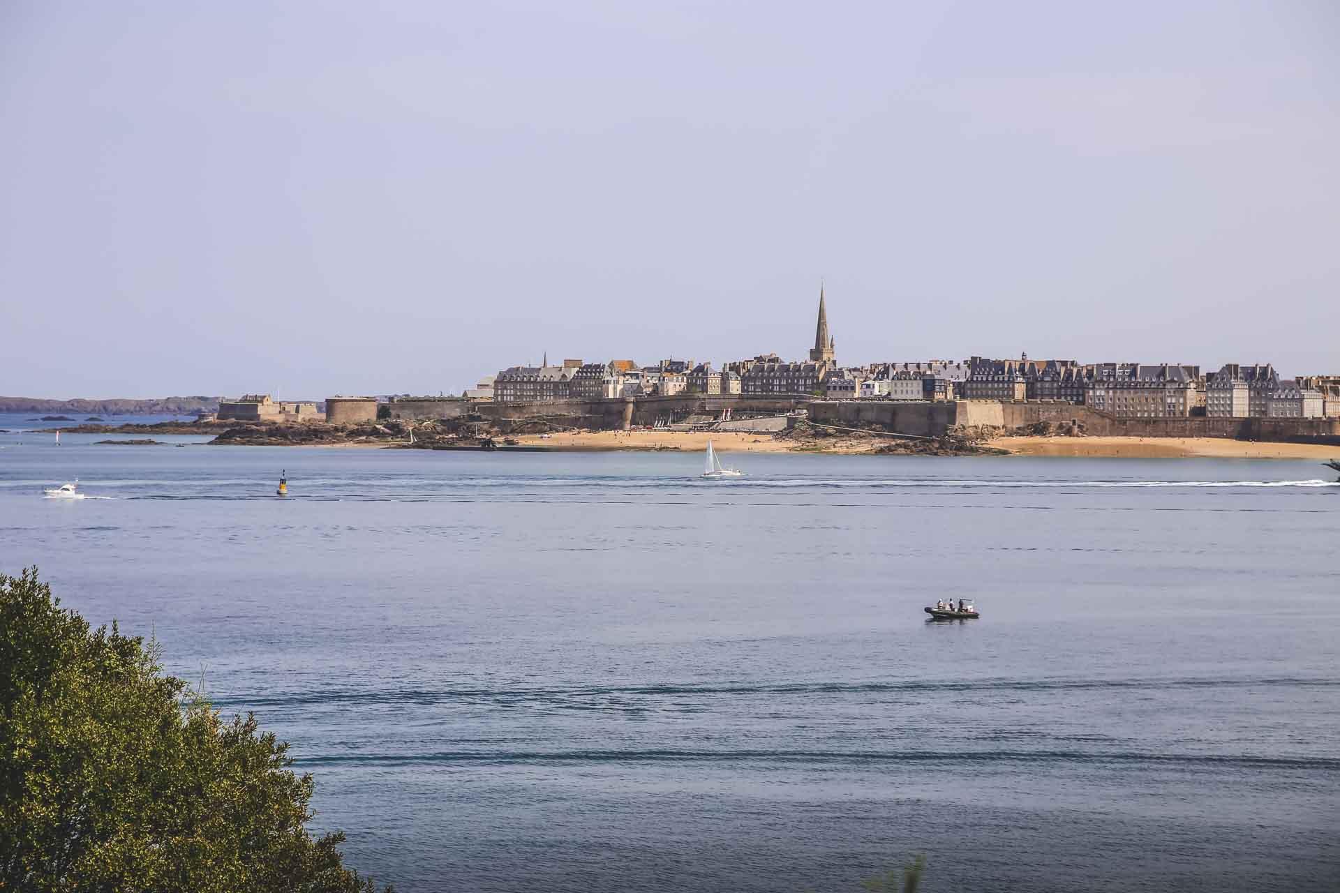 Vue sur Saint-Malo - Bretagne