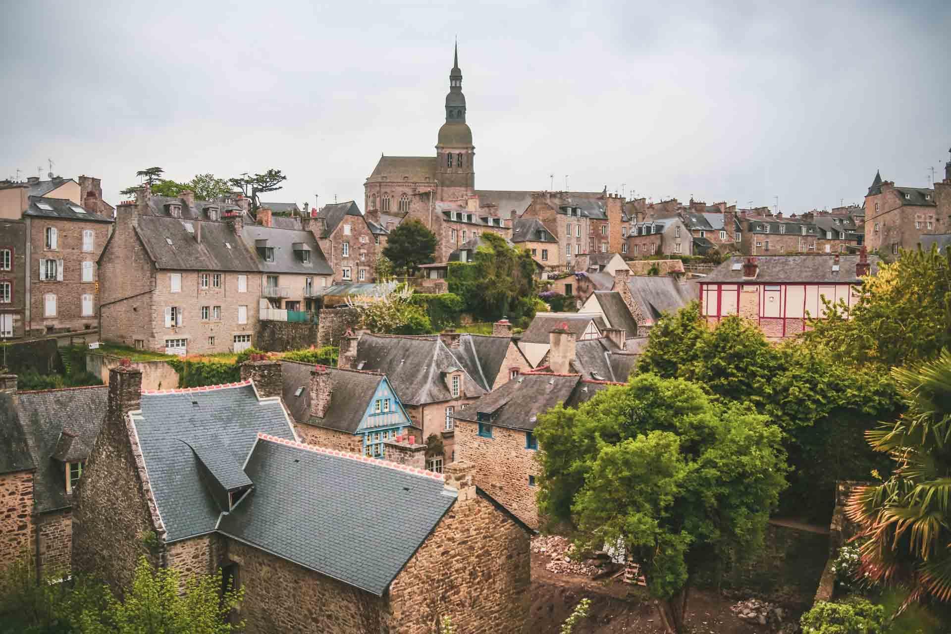 Point de vue sur Dinan - Bretagne