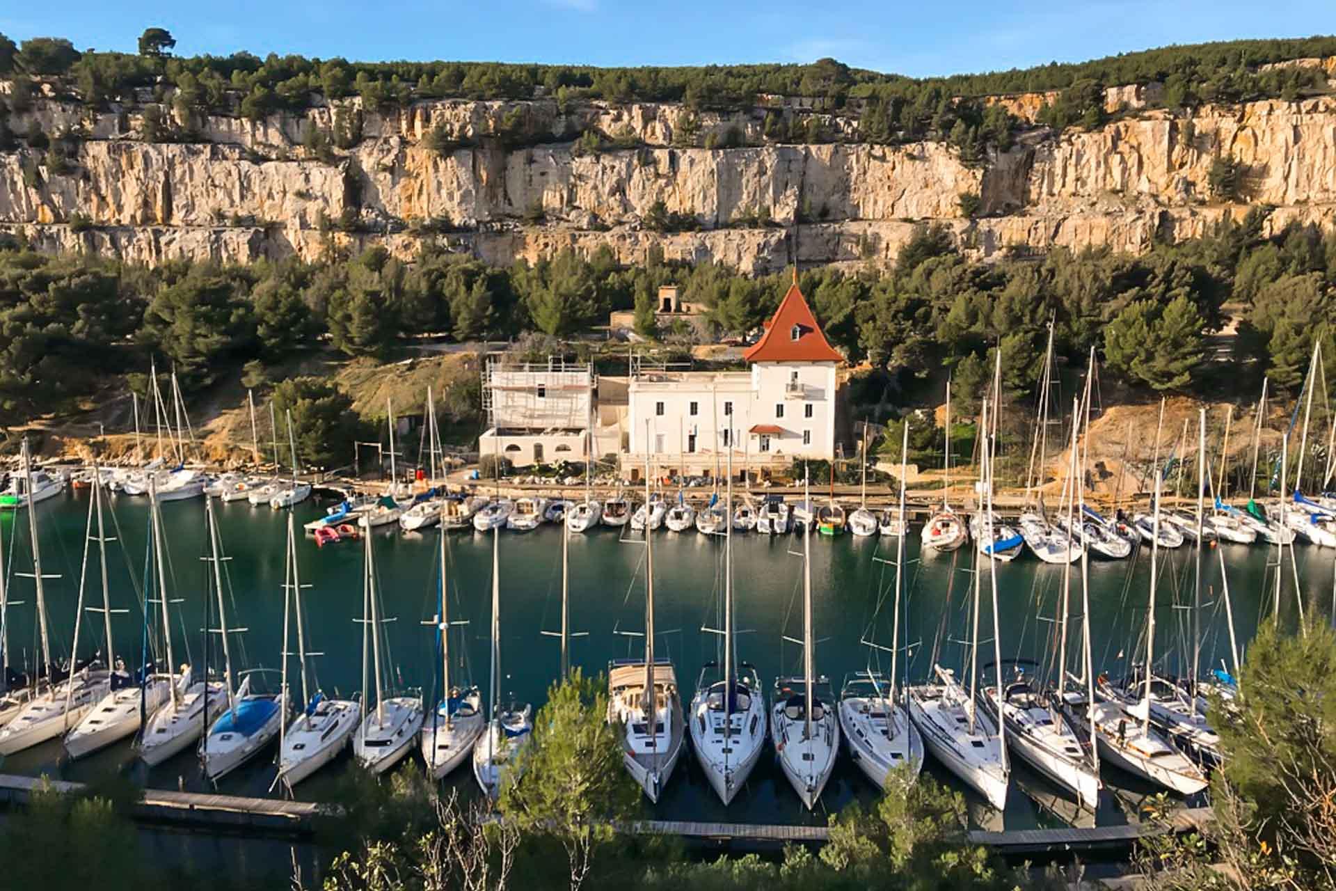 Port-Miou's calanque