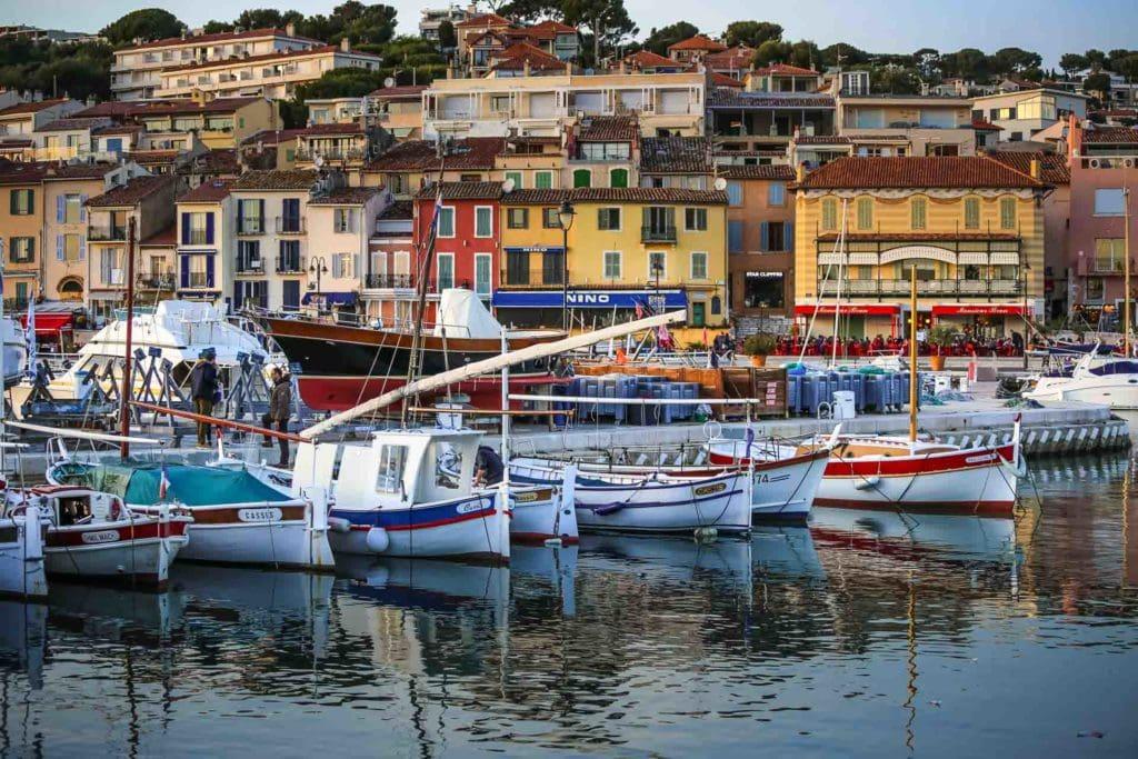 Cassis's port