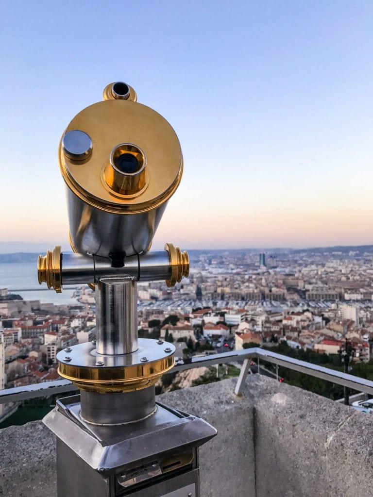 Vue de Notre-Dame de la Garde - Marseille