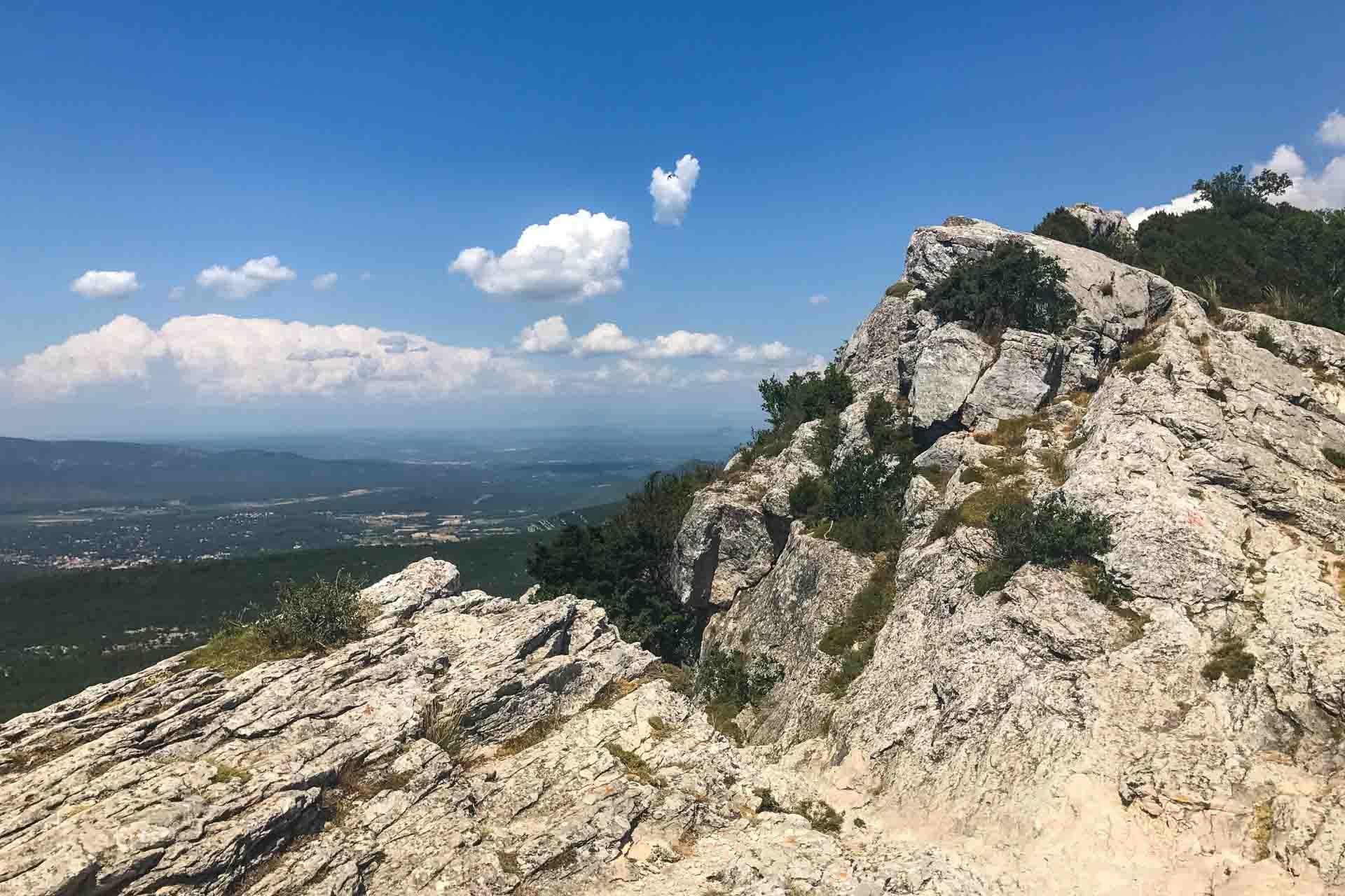 At the top of Mont Saint-Pilon